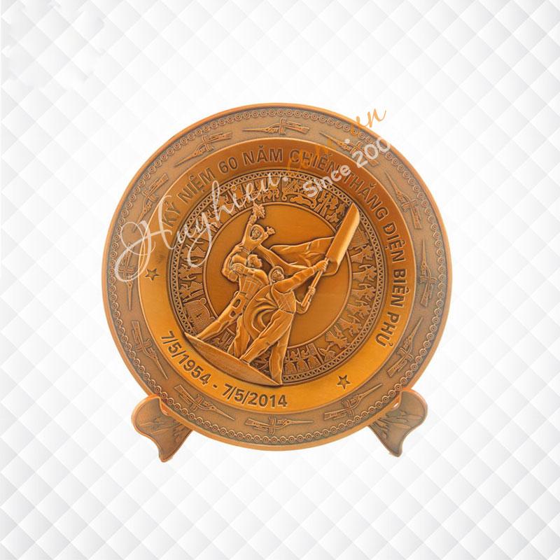 Biểu trưng đĩa đồng 14