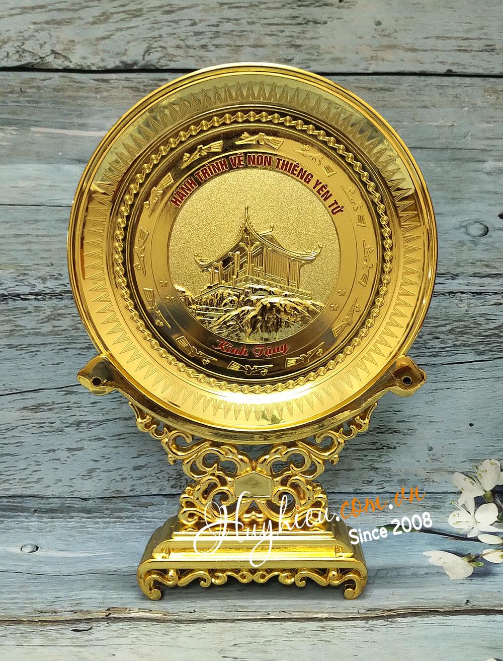 Biểu trưng đĩa đồng 19